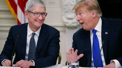Trump incontrerà Tim Cook, CEO di Apple, nello stabilimento Apple da 1 miliardo di dollari in Texas