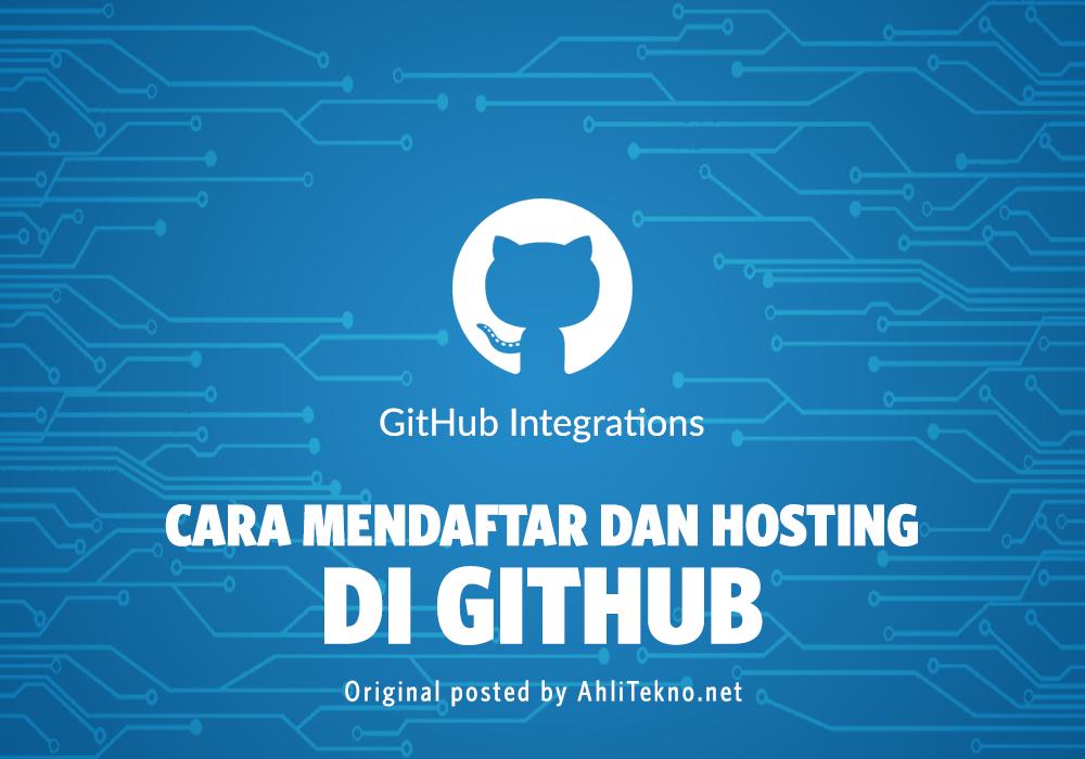 Cara Mendaftar di GitHub dan Hosting File di GitHub