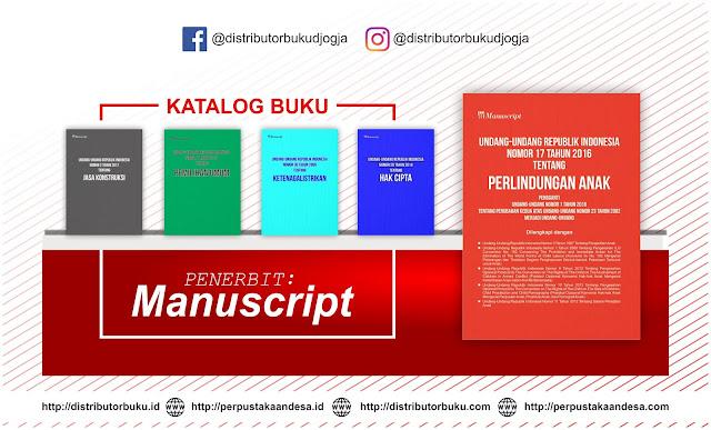 Buku Terbaru Terbitan Penerbit Manuscript