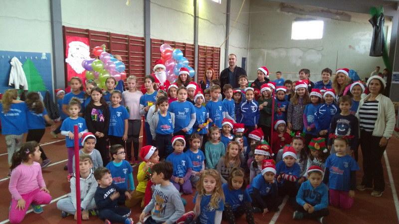 Με πολλά χαμόγελα η Χριστουγεννιάτικη γιορτή Στίβου του Εθνικού Αλεξανδρούπολης