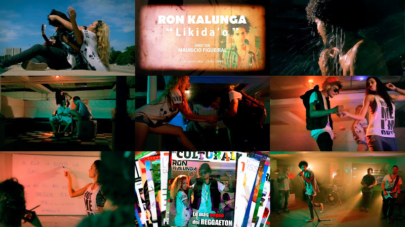 Ronkalunga - ¨Likidao¨ - Videoclip - Director: Mauricio Figueiral. Portal Del Vídeo Clip Cubano. Música cubana. Pop Rock. Cuba.
