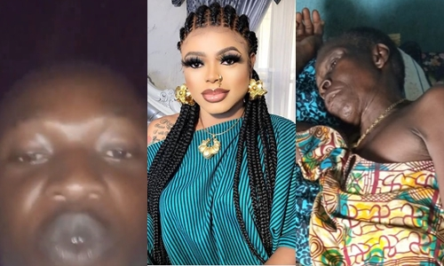 Bobrisky told me to have sex with him before helping my Grandmother- Man claims (Video)