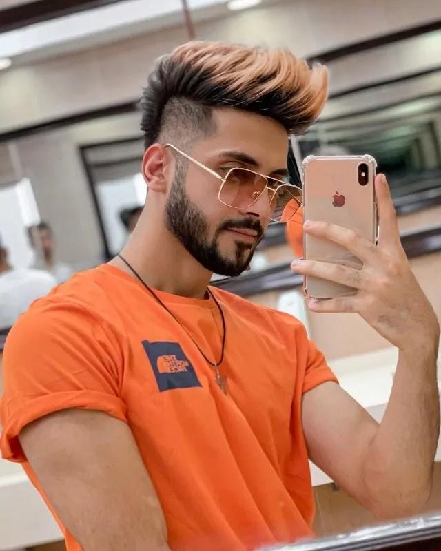 Apricot Hair colour.