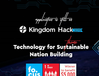 $5,000 (₦1.8 million Naira) Up For Grab in RCCG YAYA Kingdom Hack 2019. Apply Now