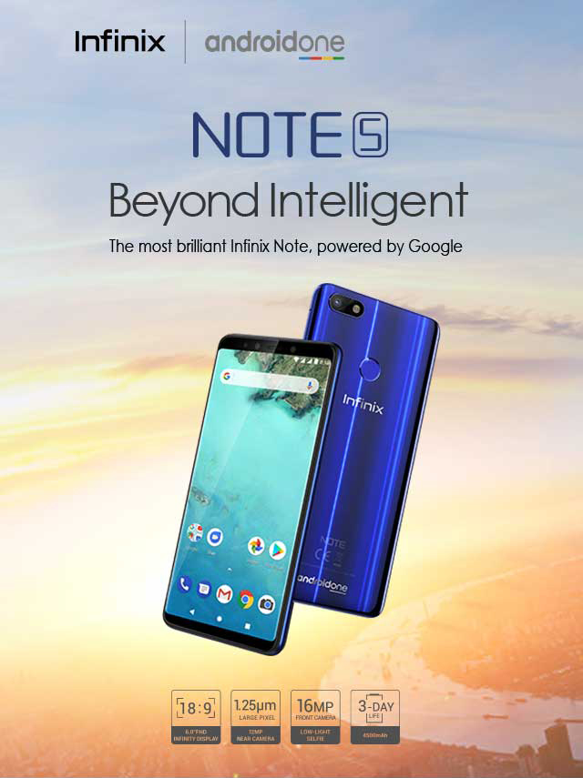 Infinix Note 5 review, specifications & price in Nigeria