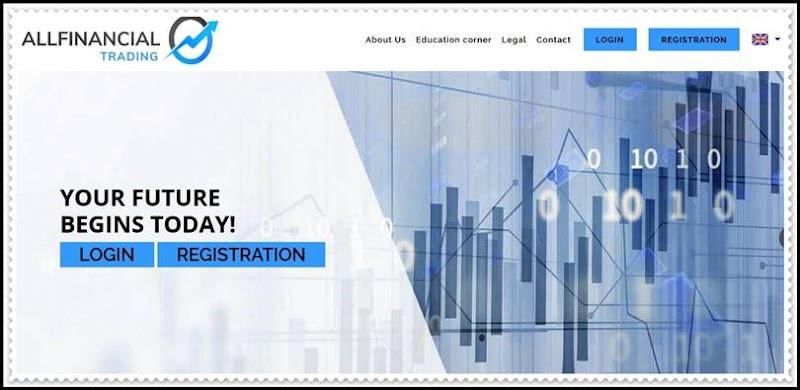 Мошеннический сайт allfinancialtrading.com – Отзывы, развод! Компания All Financial Trading мошенники