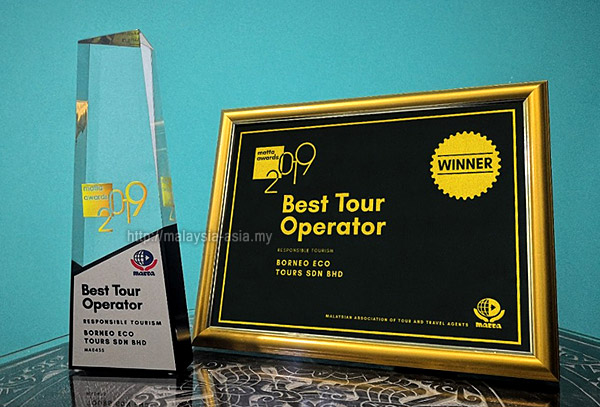 Best Tour Operator MATTA Awards 2019