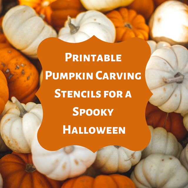 Printable Pumpkin Carving Stencils for a Spooky Halloween