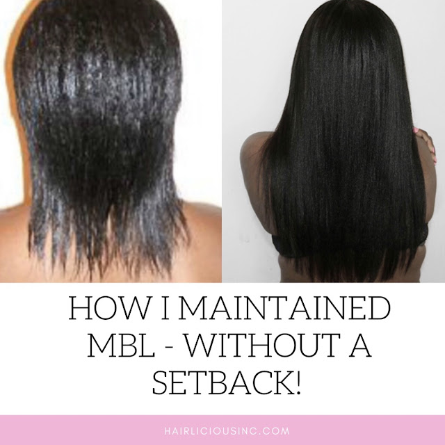 How I Maintained Mid Back Length - Without A Setback!