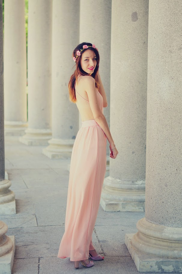 05197a1396801f Después del éxito del look para una comunión que os enseñé en este post hoy  me apetecía enseñaros un look perfecto para una boda.