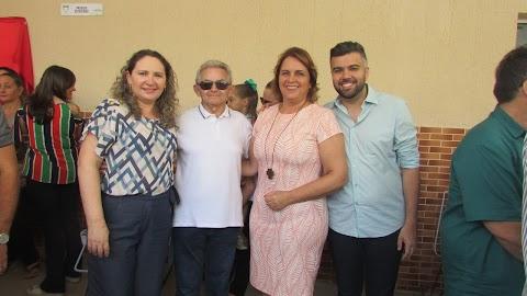 Ex-prefeita de Mossoró, Cláudia Regina parabeniza prefeita Elijane pela reinauguração do Centro de Saúde Dr. Guaraci Onofre