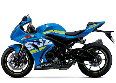 2017  Suzuki GSX-R1000 Side look wallpaper