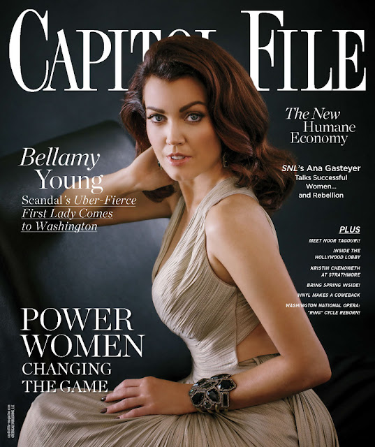 Actress, Singer, @ Bellamy Young - Capitol File, May/June 2016