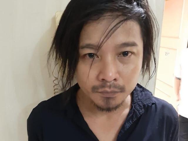 Zul 'Zivilia' Pelantun Lagu Aishiteru Ditangkap Polisi terkait Narkoba