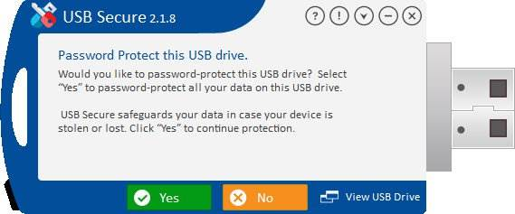 Screenshot USB Secure 2.1.8 Full Version