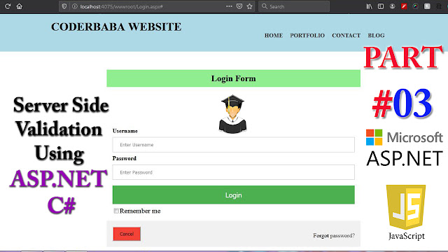 coderbaba login page