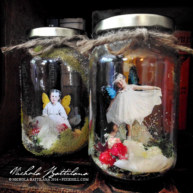 Imp and Fairy Jar - Nichola Battilana