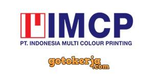 Lowongan Kerja PT Indonesia Multi Colour Printing (IMCP)
