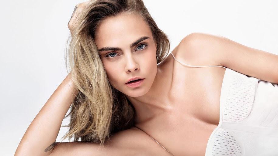 Cara Delevingne, Beautiful, Blonde, Model, 4K, #6.808