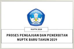 Proses Pengajuan dan Penerbitan NUPTK terbaru Tahun Pelajaran 2019/2020