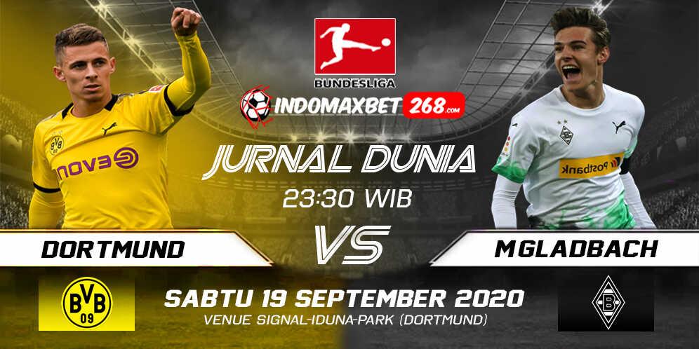 Prediksi Borussia Dortmund Vs Borussia Monchengladbach 19 September 2020 Pukul 23.30 WIB