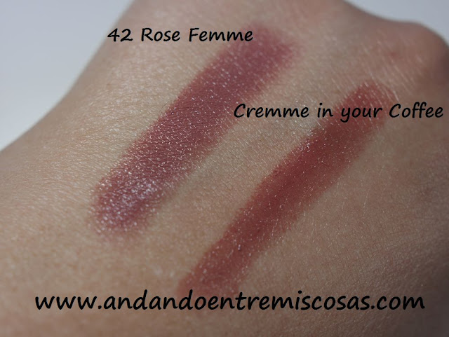 Labiales de Milani y Mac, swatches