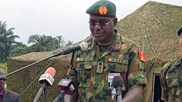 Insecurity: Feed army with intelligence – Buratai begs Nigerians