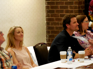 Zoie Palmer and Anthony Lemke at Shore Leave 38, Hunt Valley, MD.