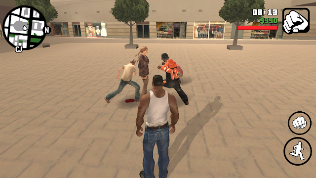 Fight Mod GTA SA Android gtaam blogspot com