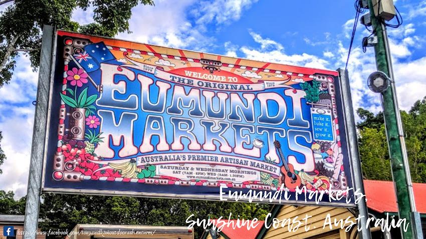 Day Trip To Eumundi Markets Sunshine Coast