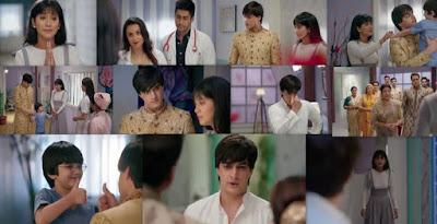 "Yeh Rishta Kya Kehlata Hai Episode 15th August 2019 Written Update "" Kartik-Naira as Parents Kartik Asks Question to Naira ""."