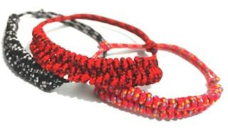 Gelang tali prusik sederhana