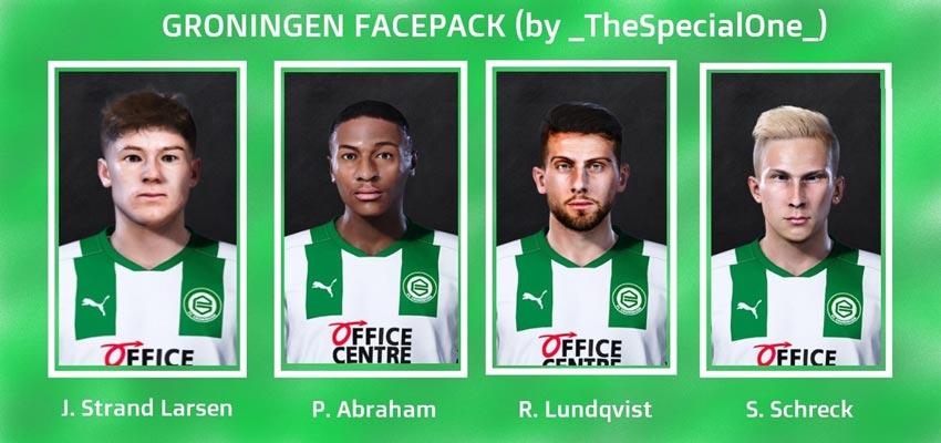 Gronigen Facepack 2021 For eFootball PES 2021