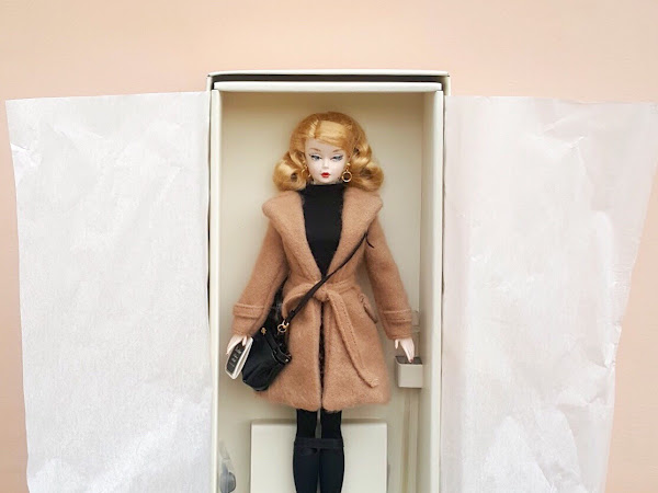 Meet Barbara Kristy, my Barbie® Classic Camel Coat Doll.