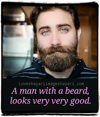 Best hindi shayari for your boyfriend's beard