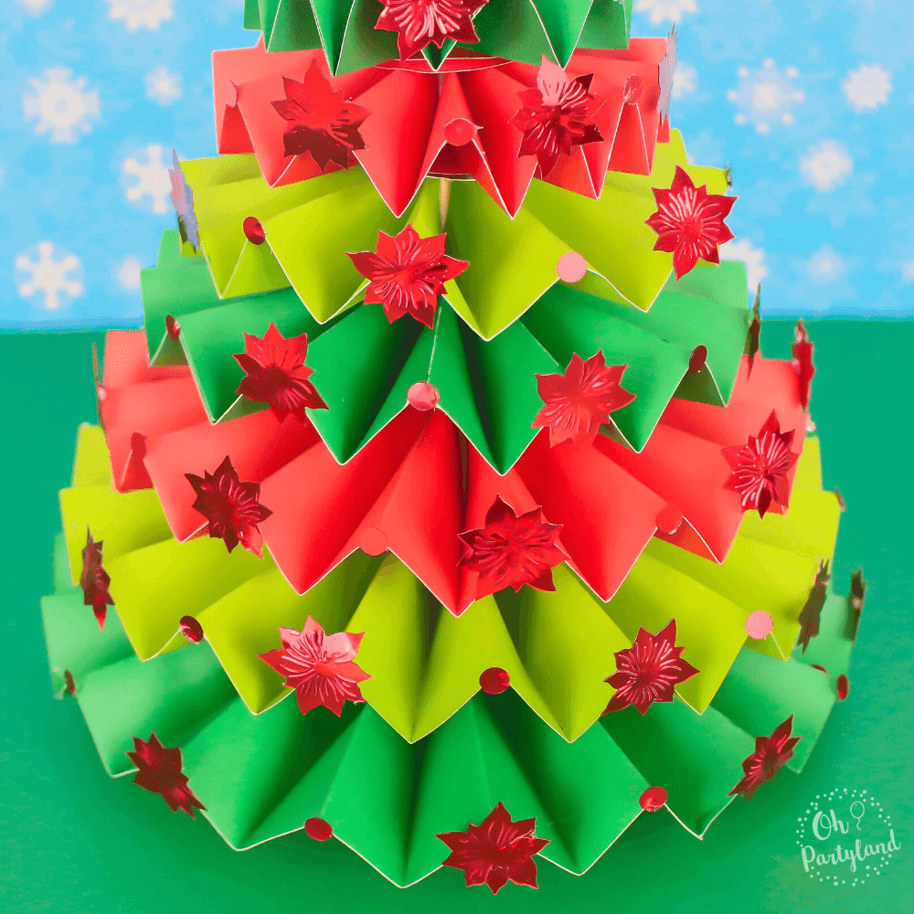 rosette-christmas-tree
