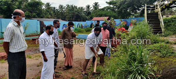 News, Kerala, Congress workers cleaned Chattanchal PHC premises