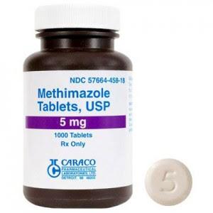 ยารักษาไทรอยด์ Methimazole