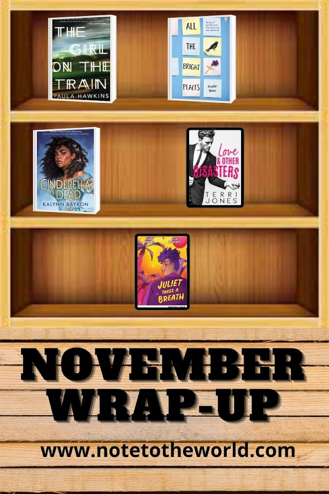 November Book Wrap-Up: Everything I Read This Month