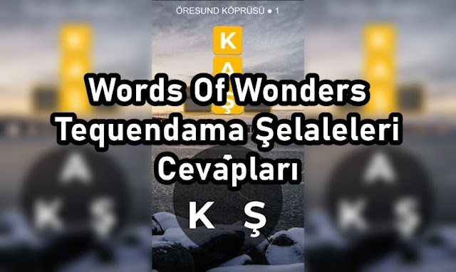 Words Of Wonders Tequendama Şelaleleri Cevaplari