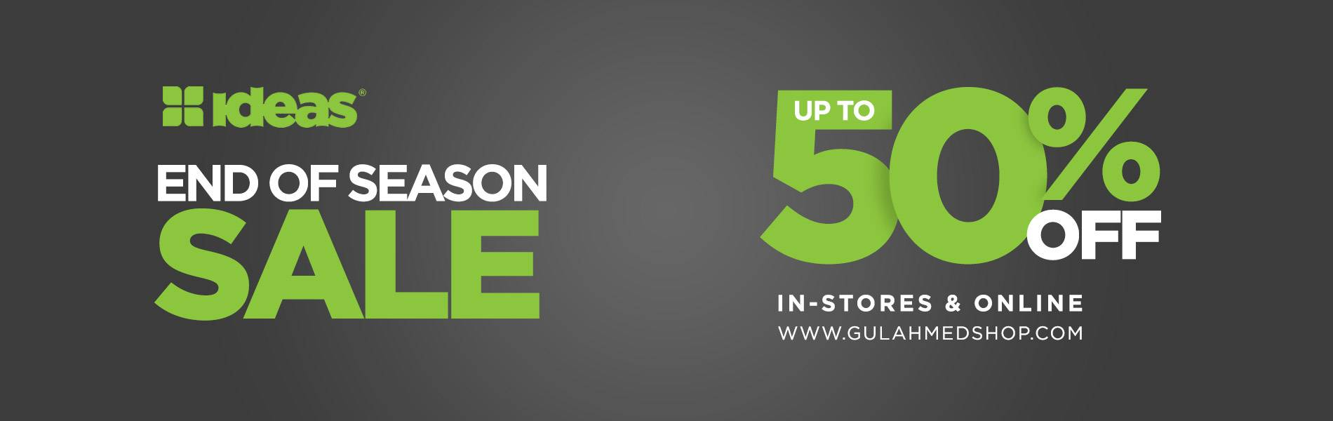 Gul Ahmed End of Season Sale 2020 with 50 % OFF