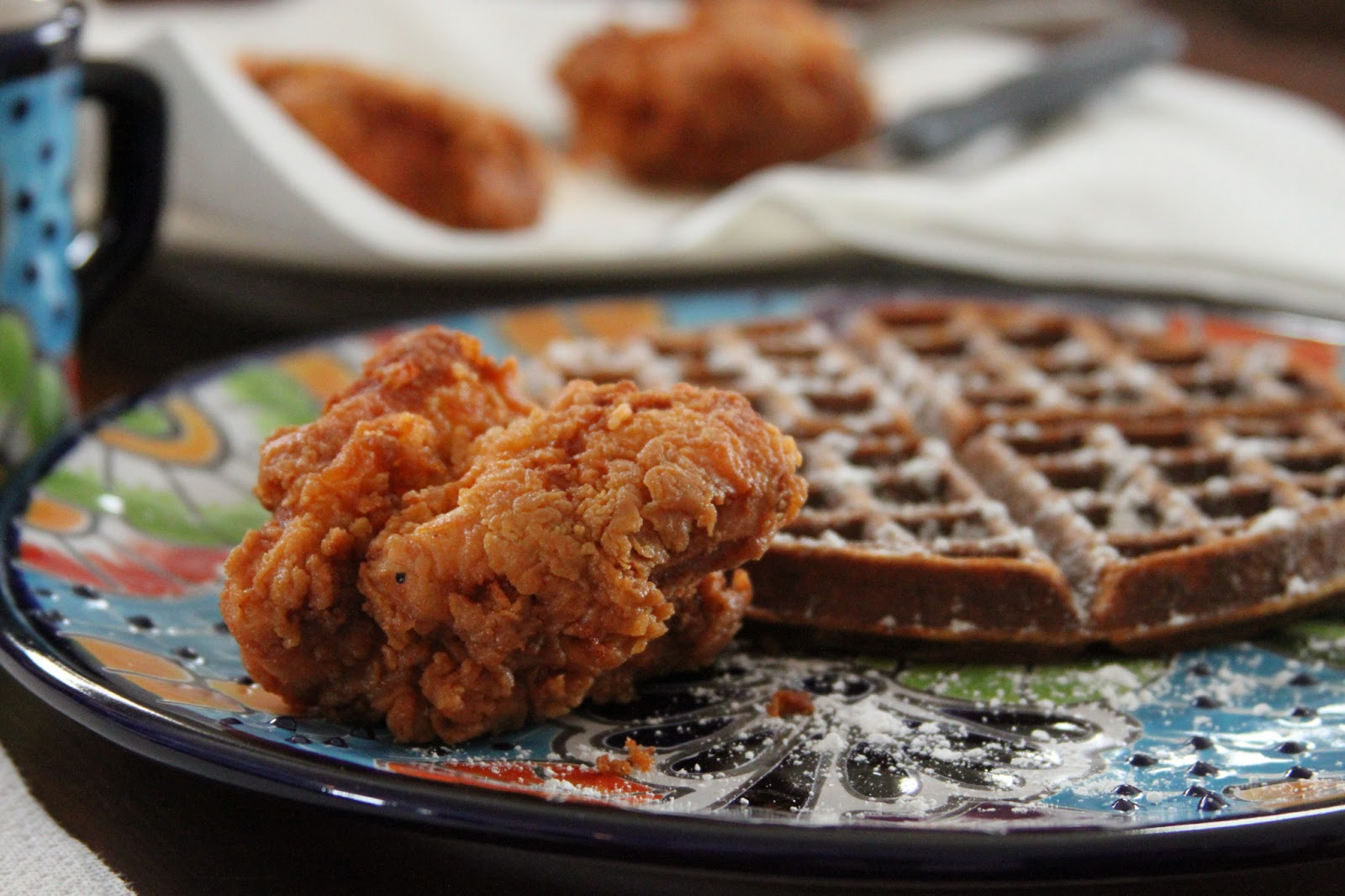 Fried Chicken And Waffles: Everyday Foodie: Fried Chicken & Waffles