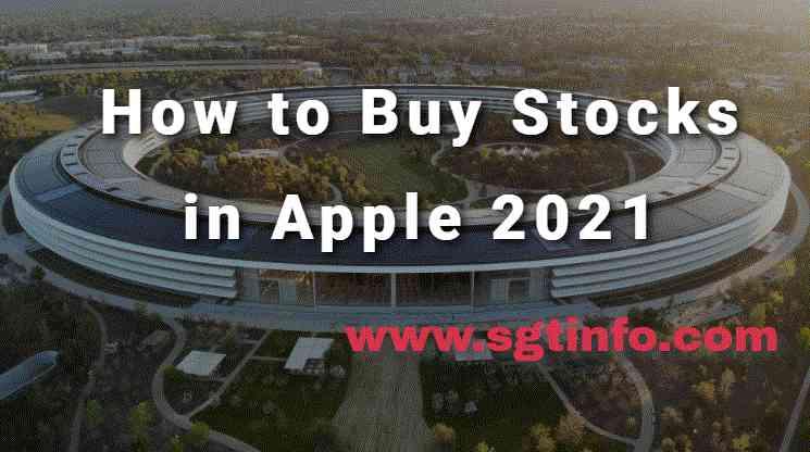 How to Buy Stocks in Apple 2021