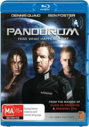 Pandorum 2009 BluRay 850Mb Hindi Dual Audio 720p