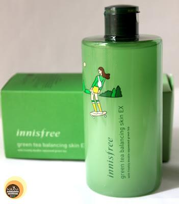 Innisfree Green Tea Balancing Skin Ex skin toner