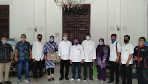 DPD LPM Kota Bogor Gelar Pertemuam Dengan Wakil walikota Kota Bogor Dan Beberapa Instansi Pemerintah