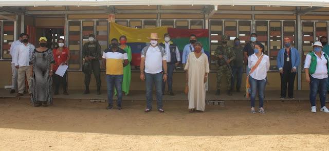 hoyennoticia.com, Alcalde Mohamad Dasuki llevó ayudas a Ipapure y Pattain