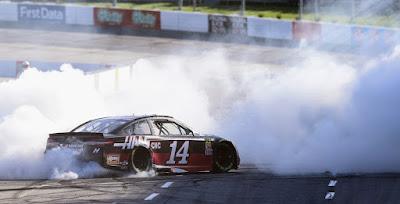 Bowyer's Back - Celebration Burnout - #NASCAR