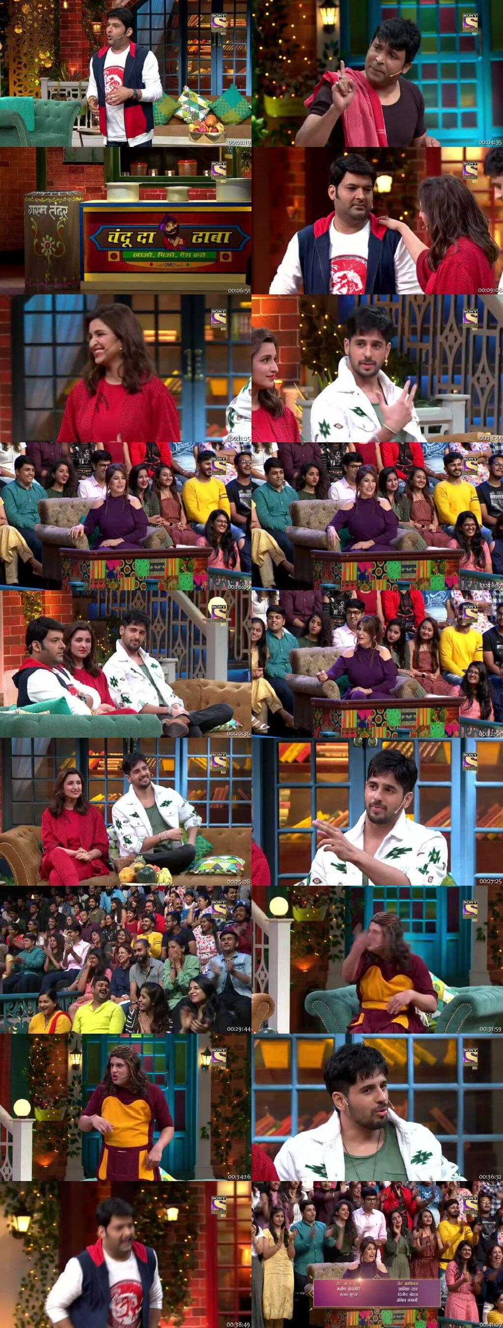 Screen Shot Of The Kapil Sharma Show 28th July 2019 Season 02 Episode 61 300MB Watch Online