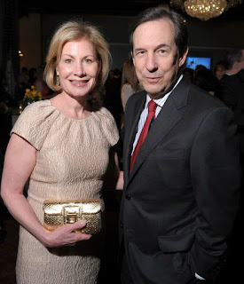 Lorraine Martin Smothers with her husband Chris Wallace